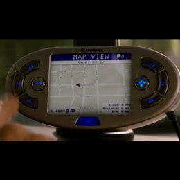 Larry hilft Mrs. Tainot mit dem GPS - Szene Poster