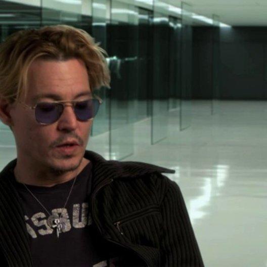 Johnny Depp über Morgan Freeman als Joseph Tagger - OV-Interview