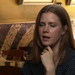 Amy Adams - Margaret Keane - darüber warum Walter sich als Maler der Bilder ausgegeben hat - OV-Interview