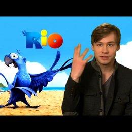 David Kross über Blu 1 - Interview Poster