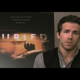 Ryan Reynolds über die Anstrengungen des Drehs - OV-Interview Poster