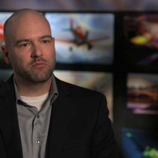 Ryan Carlson - Production Designer - über die Erschaffung der Welt von Planes - OV-Interview Poster