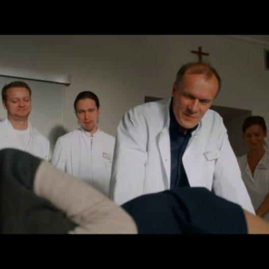 Visite im Krankenhaus - Szene