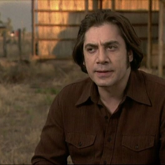 Interview mit Javier Bardem ( Anton Chigurh ) - OV-Interview Poster
