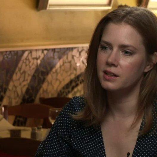 Amy Adams - Margaret Keane - darüber was Margaret und Walter gegenseitig angezogen hat - OV-Interview
