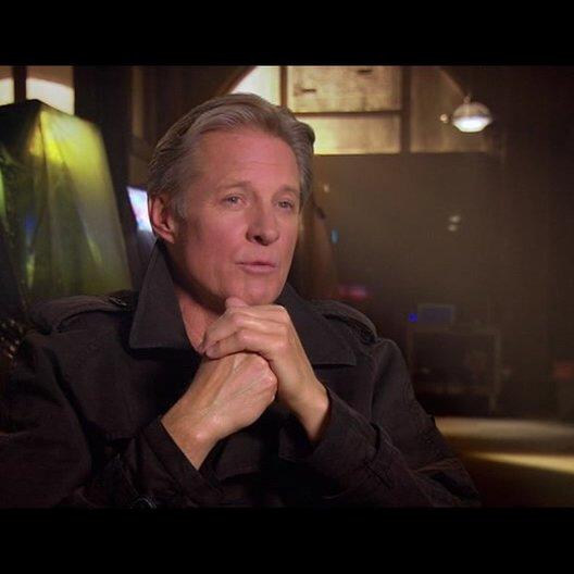 Bruce Boxleitner (Alan Bradley -Tron) - über seine Rolle als Alan Bradley - OV-Interview Poster