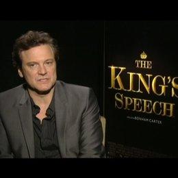 Colin Firth (King George VI) über die Themen des Films - OV-Interview Poster