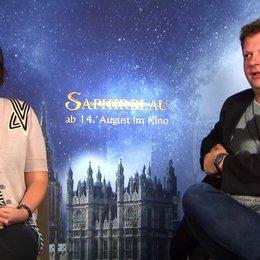 Felix Fuchssteiner und Katharina Schoede -  Regie und Produktion -  was neu in Saphirblau ist - Interview
