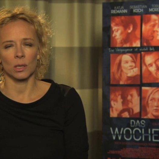 Katja Riemann über ihre Rolle - Interview Poster