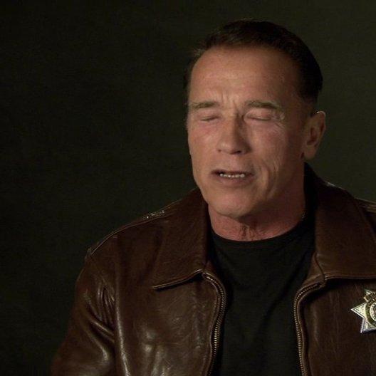 Arnold Schwarzenegger (Ray Owens) über die großartige Besetzung - OV-Interview