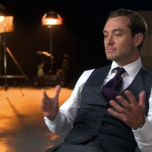 Jude Law über seine Erfahrung beim Drehen des Films - OV-Interview