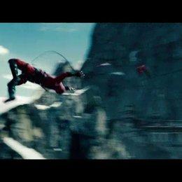 Kampf an der Felswand - Szene Poster