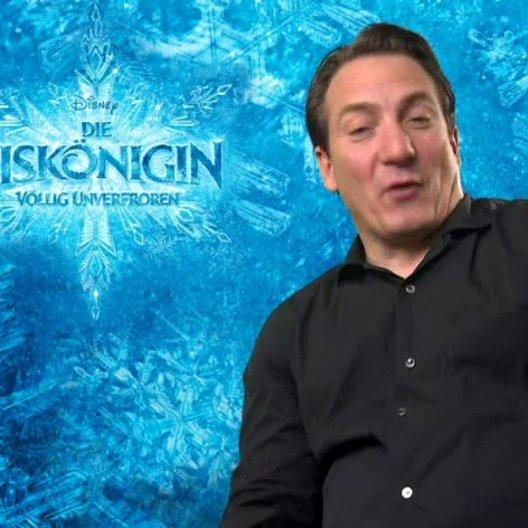 Robert Palfrader - Synchronstimme Herzog von Pitzbühl - über das Gespann Kristoff und Sven - Interview