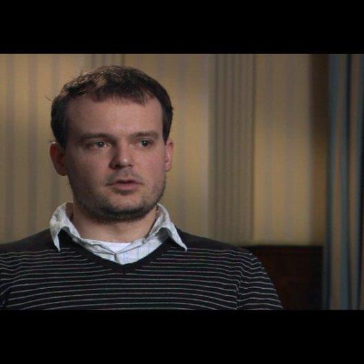 """Johannes Allmayer (""""Alexander"""") über das Drehbuch - Interview"""