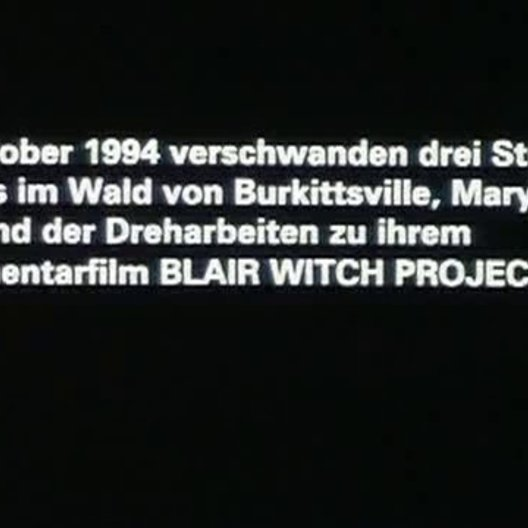 Blair Witch Project - Trailer