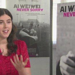 Alison Klayman (Regie) über filmen als Teil seiner Kunst - OV-Interview Poster