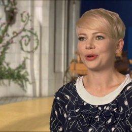 Michelle Williams (Glinda und Annie) über Production Designer Robert Stromberg und das Set - OV-Interview Poster