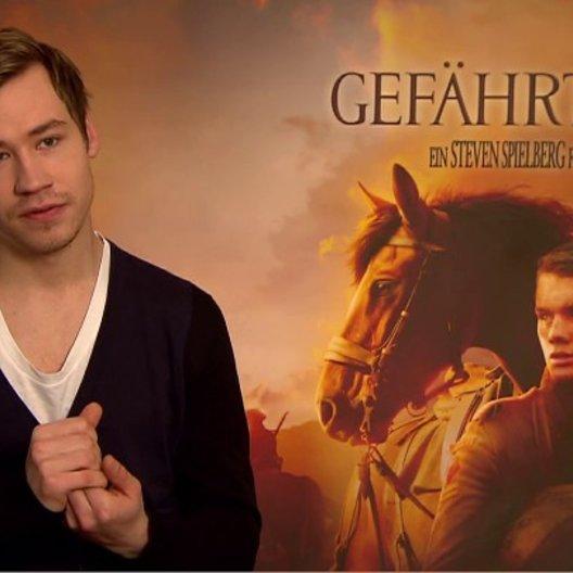 David Kross (Gunther) was den Zuschauer erwartet - Interview Poster