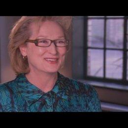 MERYL STREEP - Margaret Thatcher - über die Arbeit, vor Publikum aufzutreten - OV-Interview