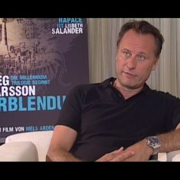 Michael Nyqvist über das Herausfordernde an der Rolle des Mikael Blomkvist - OV-Interview