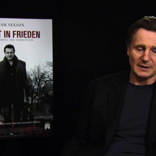 Liam Neeson über den Drehort New York - OV-Interview