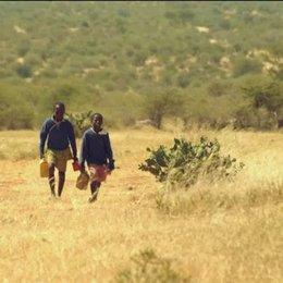 Jackson und Salome passieren die Giraffen - Szene