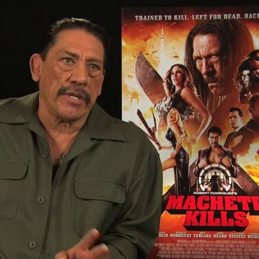 Danny Trejo über Lady Gaga - OV-Interview