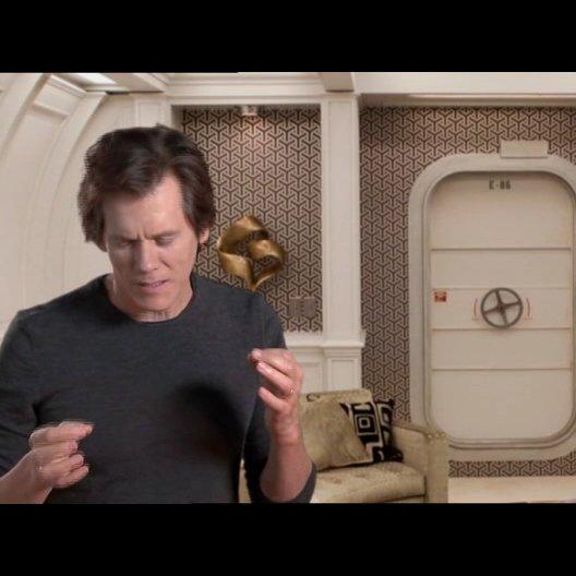 Kevin Bacon über das Produktionsdesign des Films - OV-Interview