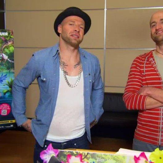 Mateo und Mr Reedoo - Pedro und Nico - über Nico und Pedro - Interview