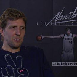 Dirk Nowitzki über sein Verhältnis zu Holger Geschwinder - Interview Poster