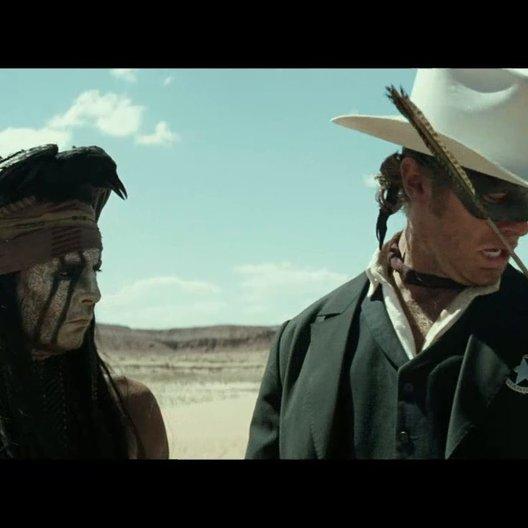 Lone Ranger - Trailer Poster