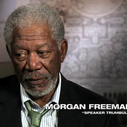 Morgan Freeman über die Politik - OV-Interview