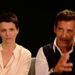 Clive Owen und Juliette Binoche - Jack Marcus und Dina Delsanto - über die Beziehung ihres Filmpaares - OV-Interview Poster