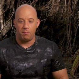 Vin Diesel - Kaulder - über Action Fantasy - OV-Interview
