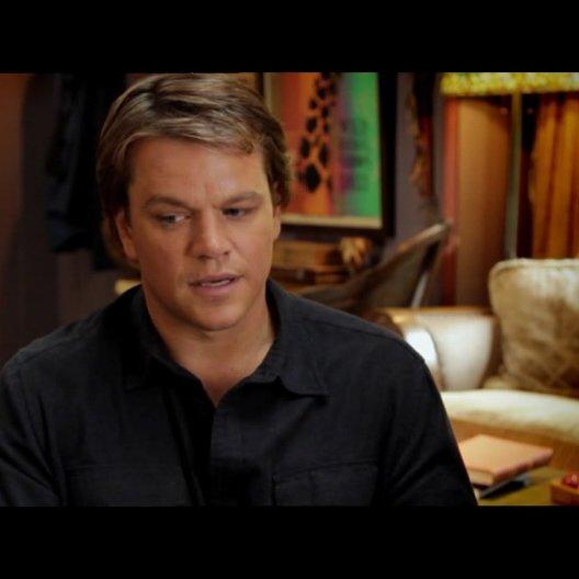 Matt Damon - Benjamin Mee - über den Film - OV-Interview Poster