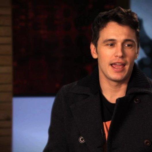 James Franco über die Arbeit mit Seth Rogen und Evan Goldberg - OV-Interview Poster