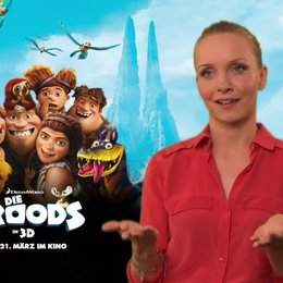 Janin Reinhardt (Eep) über die Dreamworksproduktionen - Interview Poster