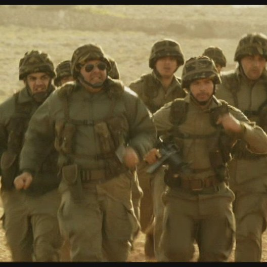 Soldaten jagen das Schwein - Szene Poster