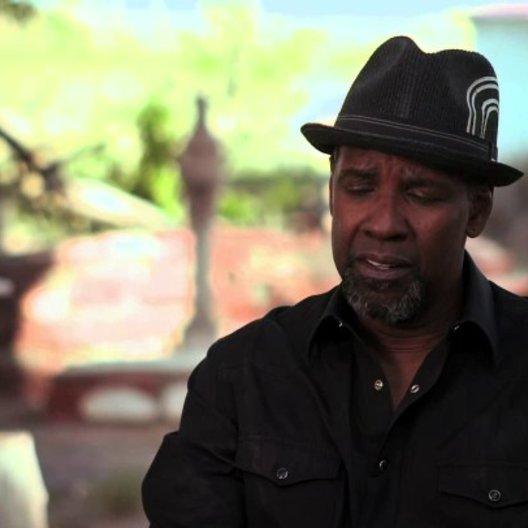 Denzel Washington über die Story - OV-Interview Poster