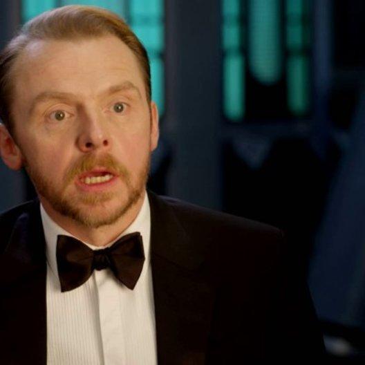 Simon Pegg (Benji Dunn) über den Anfang des Films - OV-Interview