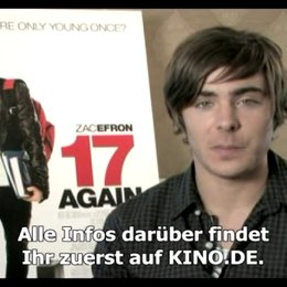 Zac Efron grüßt alle User von KINO.DE! - Video-Editorial Poster
