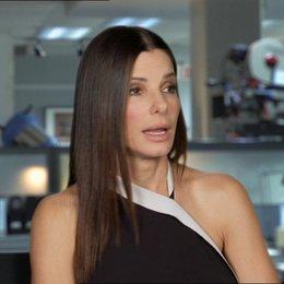 Sandra Bullock -Ashburn - über die Besetzung - OV-Interview Poster