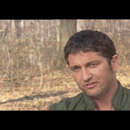 Gerard Butler über die Szenen mit Clyde und Nick - OV-Interview