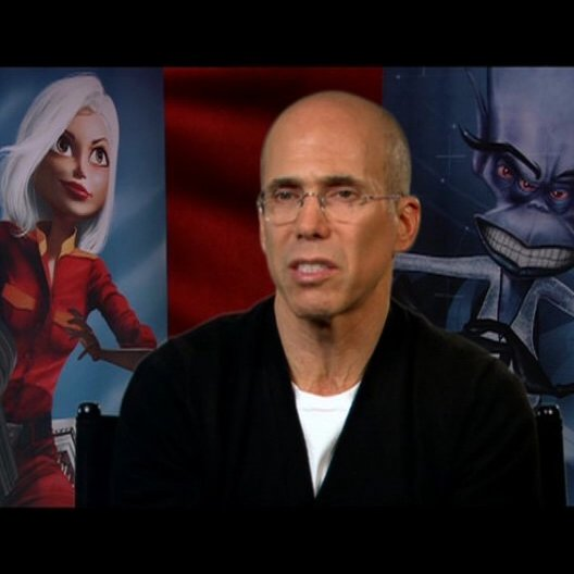 Jeffrey Katzenberg / über die neuen 3D Erfahrungen der Zuschauer im Kino - OV-Interview Poster