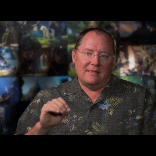 JOHN LASSETER - Ausführender Produzent / über den 50ten Animationsfilm von DISNEY - OV-Interview