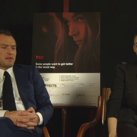 Rooney Mara - Emily Taylor und Jude Law - Dr Jonathan Banks - über den Film - OV-Interview Poster