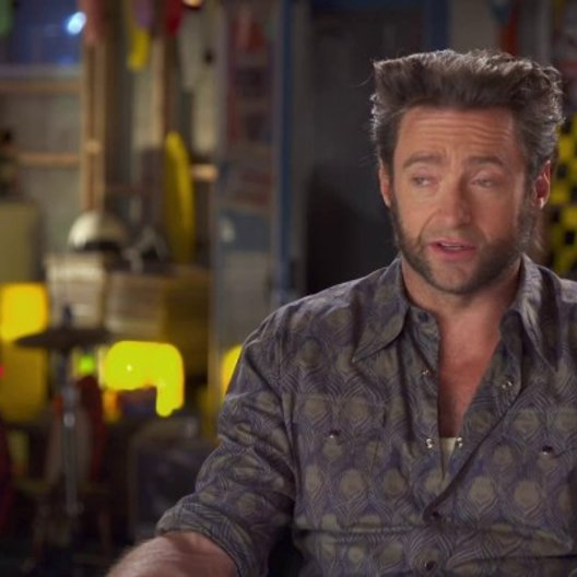 Hugh Jackman - Wolverine - über das Thema des Films - OV-Interview