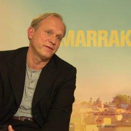 Ulrich Tukur - Heinrich - über Dreharbeiten im Ausland - Interview