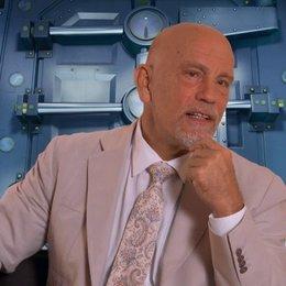 John Malkovich darüber einen Oktopus zu spielen - OV-Interview
