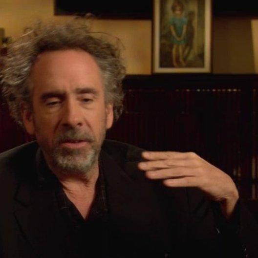 Tim Burton - Regisseur - über die geringe Anzahl von Künstlerinnen in den 50ern - OV-Interview